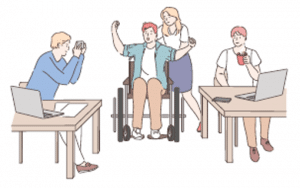 graphic from disability white paper document